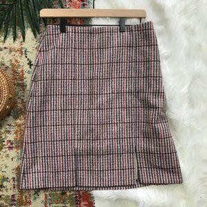 Boden • British Inspired Tweed Pencil Skirt